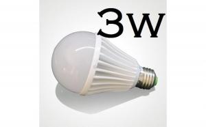 Bec LED economic dulie E27 3W 6500K ( Lumina Rece) Iluminare pentru casa - Alime