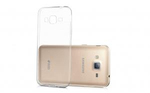 Husa slim silicon Samsung Galaxy J3 2015 Transparenta