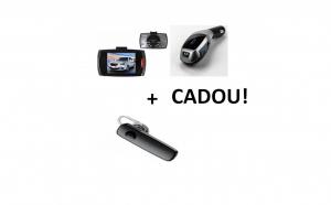 Pachet auto: camera auto + modulator fm
