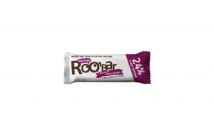 Baton proteic cirese ciocolata raw bio 40g