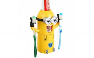 Dozator pasta de dinti cu suport pentru
