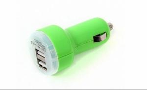 Incarcator USB Dublu pentru masina,  doar 19 RON