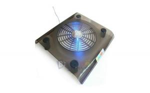 Masuta cooler extern pentru laptop cu 1 ventilator