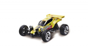 Masina WL Toys, Kart Racing Car Mini  1:52  RTR 27/49MHz Galben
