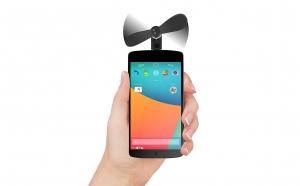 Ventilator mini portabil pentru telefon, Promotii racoritoare