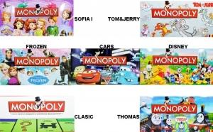 Monopoly Personaje Disney