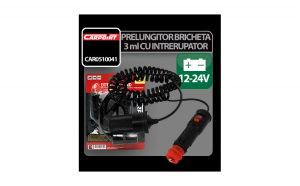 Prelungitor priza bricheta cu 3m cablu