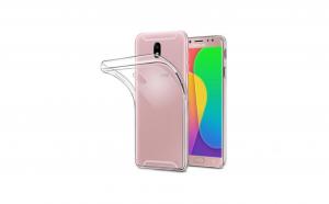 Husa slim silicon Samsung Galaxy J7 2017 Transparenta