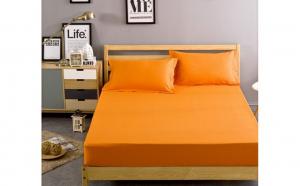 Husa de pat din Bumbac 100 % + 2 fete de perna