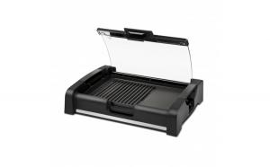 Gratar electric cu grill barbeque G3Ferrari Gratella, 1650W, 35.5 x 25.5 cm