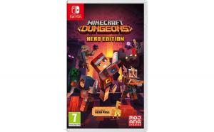 Joc Minecraft Dungeons pentru Nintendo
