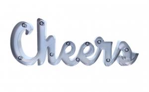 Banner decorativ cu Led Cheers, VIVO
