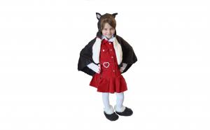 Costum carnaval pisicuta pentru copii 5-7 ani