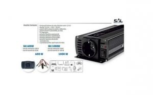 Invertor Profesional auto 600W, 12V DC/220V AC, la 210 RON in loc de 450 RON