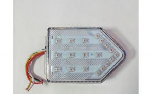 Lampa stop camion DF TRL001 cu sticla TRANSPARENTA LED 12v