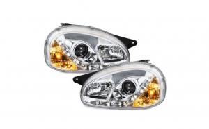 Set 2 faruri Dayline compatibil cu Opel Corsa B 3/5T 03.93-01