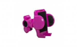 Suport telefon bicicleta roz