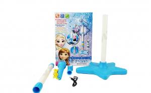 Microfon Frozen cu stativ