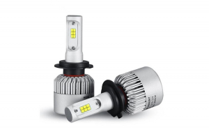 Bec LED S2 Lumileds cu chip Philips HB3 - 9005