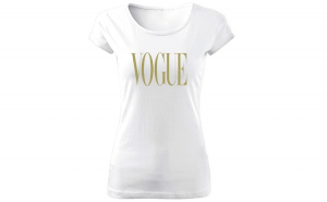 Tricou de dama ALB Vogue GOLD COD TD049
