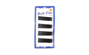 Agrafe Bob Pin negru marime mare