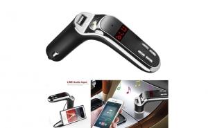 Modulator FM cu Bluetooth, USB, SD, MP3, AUTO, CARS7 de la 59 RON la 39 RON