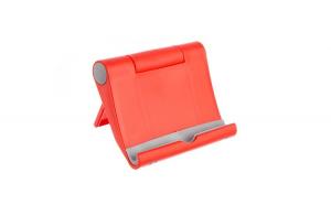 Set 30 x Suport universal de birou pentru tableta sau telefon, S059, Rosu
