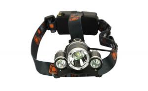 Lanterna frontala cu 3 LED-uri CREE