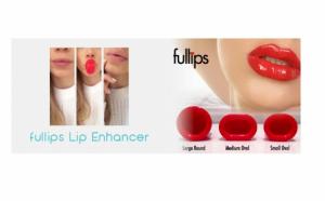 Fullips - Dispozitiv revolutionar de marire temporara a buzelorr -  3 marimi diferite