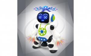Robotel dansator cu elice - Canta in limba romana si danseaza