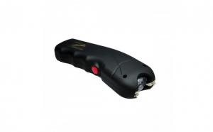 Electrosoc cu Lanterna Pentru Autoaparare, TW 309, Negru cu Husa