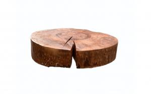 Masa de cafea din lemn masiv, produs unicat 6- Fabricat in Romania