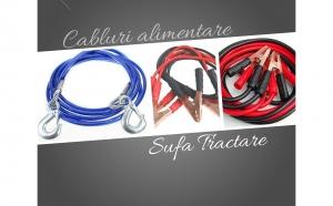 Cabluri de alimentare 600A + sufa de tractare