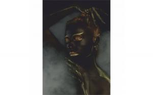 Tablou Canvas Gold Sleep, 70 x 100 cm, 100% Bumbac