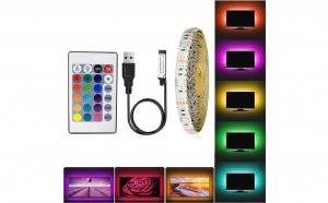 Banda LED RGB, iluminare fundal TV, 5m