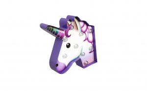 Banner decorativ cu LED unicorn, VIVO
