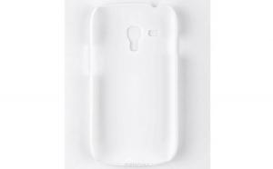 Husa Samsung Galaxy S3 Mini Nillkin Frosted Shield Alb + Folie de protectie