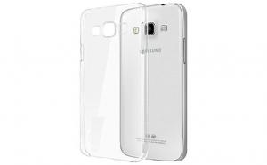 Husa slim silicon Samsung Galaxy A3 2015 Transparenta