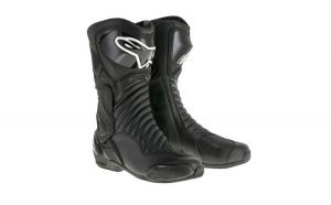 Ghete piele sport SMX 6 V2 ALPINESTARS culoare negru  marime 38