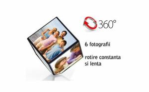 Cub foto rotativ: 6 fotografii intr-o singura rama