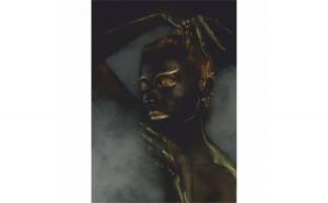 Tablou Canvas Gold Sleep, 40 x 60 cm, 100% Poliester