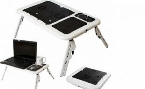 Masa laptop cu picioare reglabile
