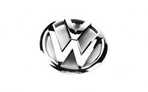 Emblema Volkswagen, montaj pe grila
