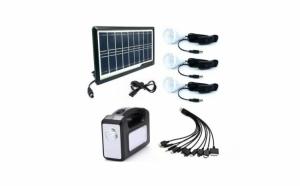 Kit panou solar Gdplus GD-7, 3 becuri