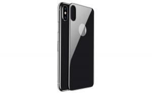 Husa Protectoroare Baseus 0 3 mm 4D Arc pentru iPhone XS   X grey