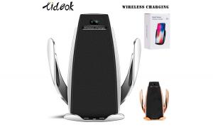suport telefon cu incarcare wireless si