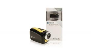 HD action camera 720p 5 MP waterproof