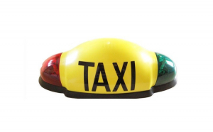 Caseta firma TAXI LED omologata,Electa / Pro Control / Trion,Cablaj inclus