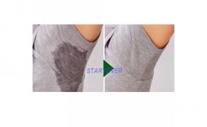 Set 4 pad-uri axila autoadezive impotriva transpiratiei ce se aplica pe interiorul hainelor