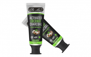 Pasta de dinti din carbon activ + Dispozitiv de albire uv